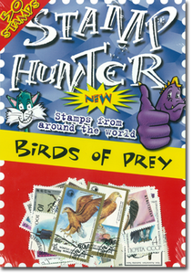 Stamp Hunters Birds of Prey Themed Pack