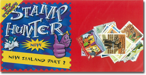 Stamp Hunters New Zealand Themed Pack Part 2