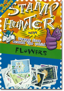 Stamp Hunters Flower Themed Pack