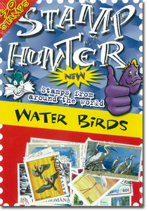 Stamp Hunters Water Birds Themed Pack