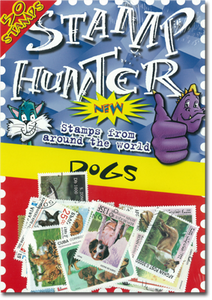 Stamp Hunters Dog Themed Pack