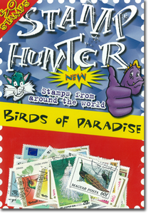 Stamp Hunters Birds of Paradise Themed Pack