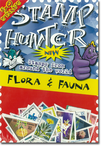 Stamp Hunters Flora and Fauna Themed Pack