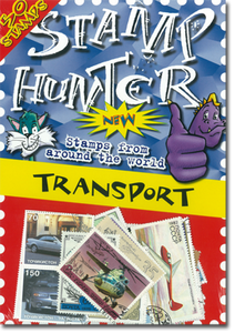 Stamp Hunters Transport Themed Pack