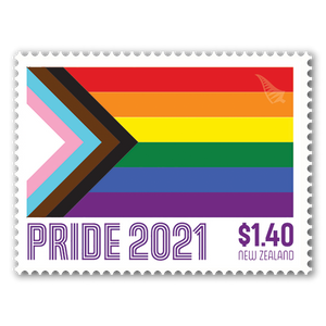 2021 Pride Set of Used Stamps