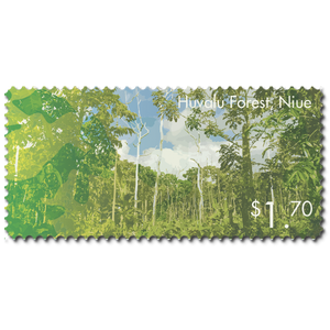 2014 Scenic Definitives - A Tour of Niue $1.70 Stamp