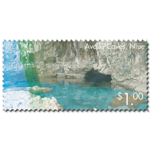 2014 Scenic Definitives - A Tour of Niue $1.00 Stamp