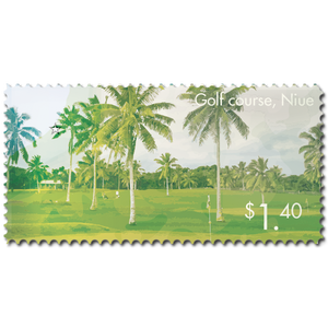 2014 Scenic Definitives - A Tour of Niue $1.40 Stamp