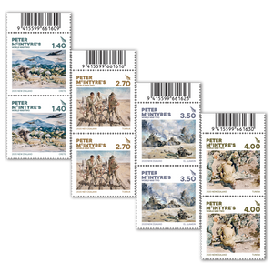2020 Peter McIntyre's World War Two Set of Barcode B Blocks