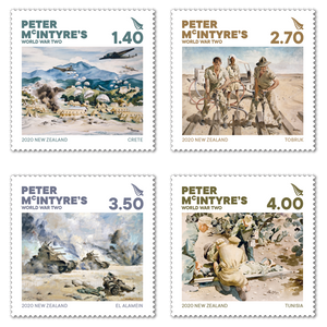 2020 Peter McIntyre's World War Two Set of Mint Stamps