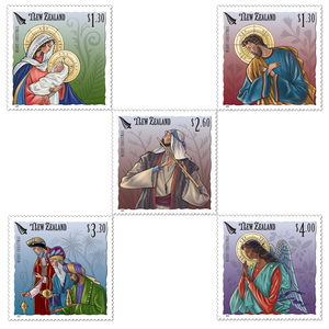 Christmas 2019 Set of Mint Stamps