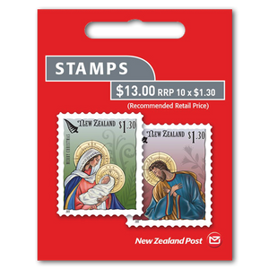 Christmas 2019 $1.30 Self-adhesive Booklet