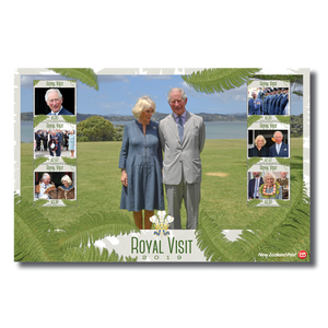 Royal Visit 2019 Set of Mint Stamps