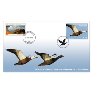2020 Game Bird Habitat First Day Cover