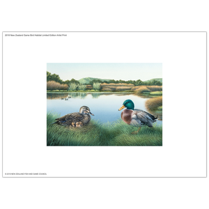 2018 Game Bird Habitat Limited Edition Artist Print