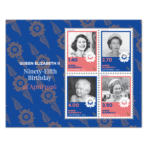 2021 Queen Elizabeth II Ninety-Fifth Birthday Used Miniature Sheet