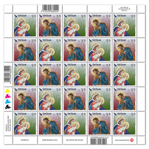 Christmas 2019 $1.30 Stamp Sheet