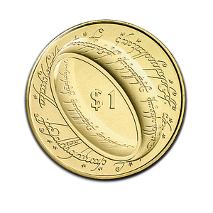 The Lord of the Rings Brilliant Uncirculated Coin
