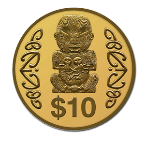 2004 Pukaki Gold Proof Coin