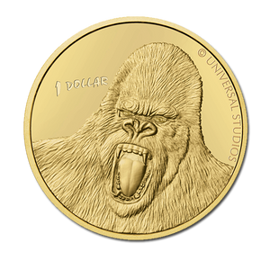 2005 King Kong Brilliant Uncirculated Coin