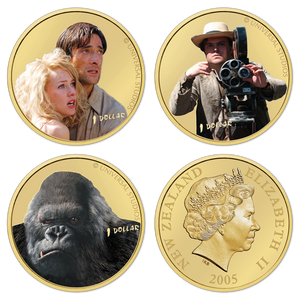 2005 King Kong Brilliant Uncirculated Character Set