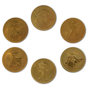 2005 The Chronicles of Narnia - The Lion, The Witch and the Wardrobe Brilliant Uncirculated Coin Set - Character Pack