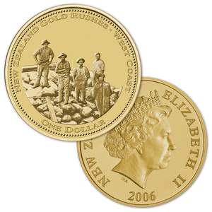 2006 Gold Rush Brilliant Uncirculated Coin