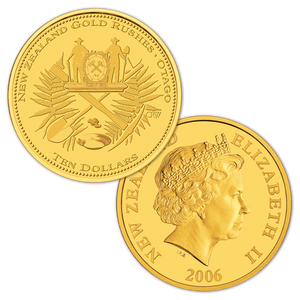 2006 Gold Rush Gold Proof Coin