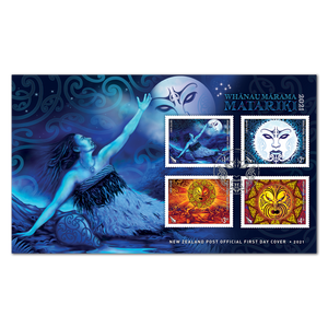 2021 Whanau Marama - Family of Light First Day Cover