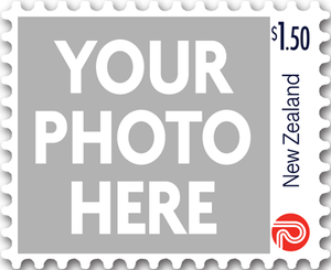 Personalised Stamps $1.50 Gummed Sheet