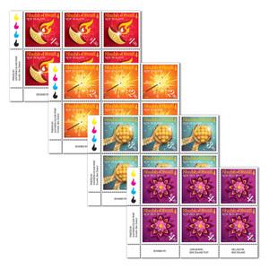 2021 Shubh Diwali Set of Plate Blocks