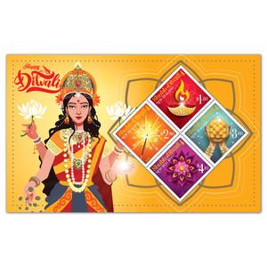 2021 Shubh Diwali Used Miniature Sheet