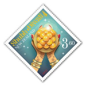 2021 Shubh Diwali $3.60 Stamp