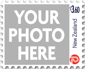 Personalised Stamps $3.60 Gummed Sheet