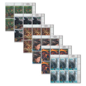2021 The Lord of the Rings: The Fellowship of the Ring 20th Anniversary Set of Value Blocks