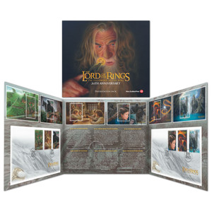 2021 The Lord of the Rings: The Fellowship of the Ring 20th Anniversary Presentation Pack