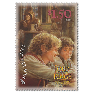 2021 The Lord of the Rings: The Fellowship of the Ring 20th Anniversary $1.50 The Prancing Pony Stamp