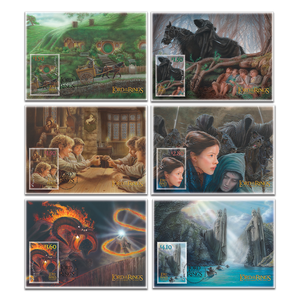 2021 The Lord of the Rings: The Fellowship of the Ring 20th Anniversary Set of Maximum Cards