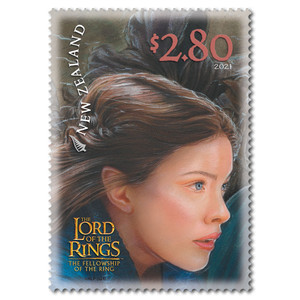 2021 The Lord of the Rings: The Fellowship of the Ring 20th Anniversary $2.80 Stamp