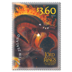 2021 The Lord of the Rings: The Fellowship of the Ring 20th Anniversary $3.60 Stamp