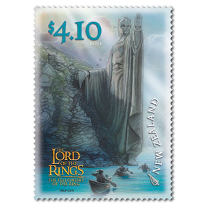 2021 The Lord of the Rings: The Fellowship of the Ring 20th Anniversary $4.10 Stamp
