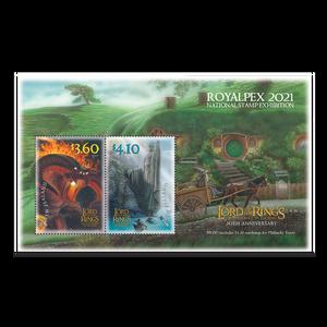 Royalpex 2021 National Stamp Exhibition Used Miniature Sheet