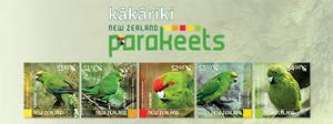 Kakariki - New Zealand Parakeets | NZ Post Collectables
