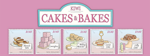 Kiwi Cakes & Bakes | NZ Post Collectables