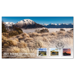 2021 Scenic Definitives | NZ Post Collectables