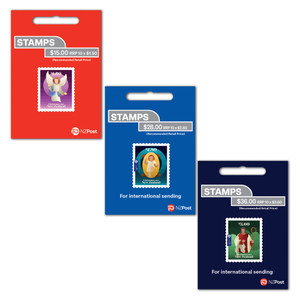 Christmas 2021 Set of Self-adhesive Booklets