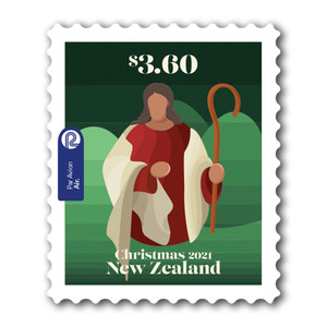 Christmas 2021 $3.60 Self-adhesive Stamp