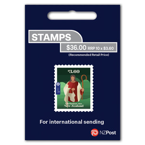 Christmas 2021 $3.60 Self-adhesive Booklet
