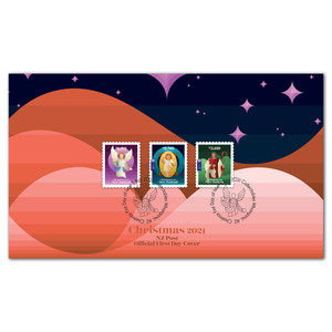 Christmas 2021 Self-adhesive First Day Cover