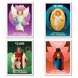 Christmas 2021 Set of Mint Stamps